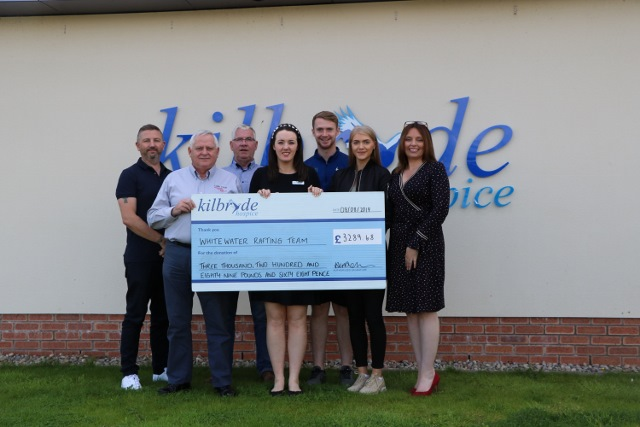 White Water Rafting raises over £3200