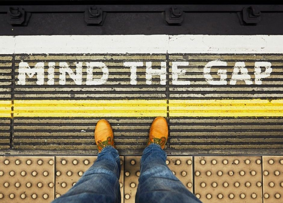 Mind The Gap – Guest Blog by Laurie MacPherson of Grow Consultancy